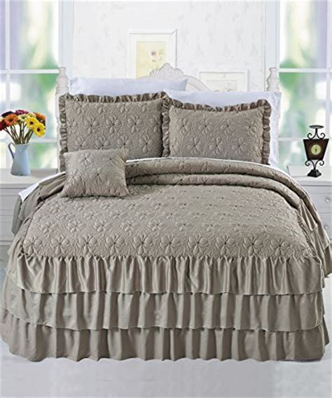 Tailored Bedspreads Fitted Bedspread A Nicely Tailored Look For Your Bed