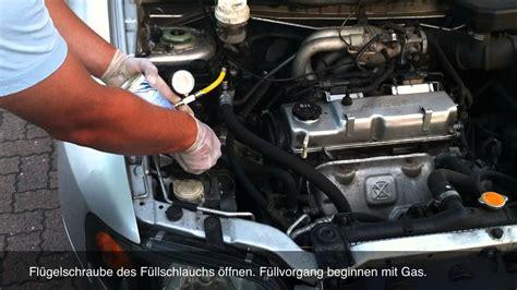 Bmw 1er Diesel Nimmt Kein Gas An by Klima Gas Selber Bef 252 Llen Mit Simple Starterkit