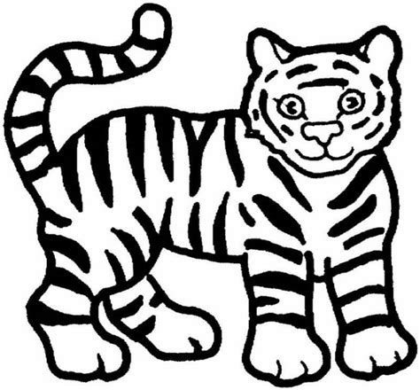 coloring pages of baby tigers coloring pages for kids