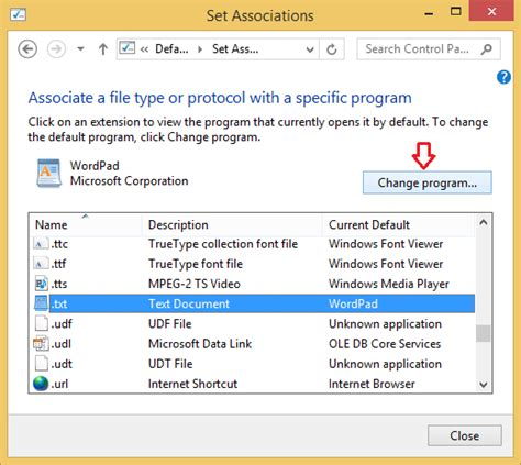 Windows 10: Associate a File Type with a Specific App ... File Type Associations In Windows 10
