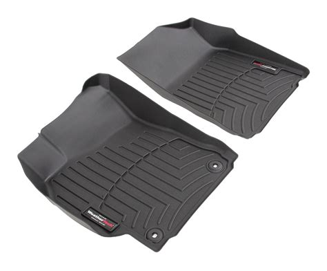 Weathertech Floor Mats For Cars by Weathertech Front Auto Floor Mats Black Weathertech