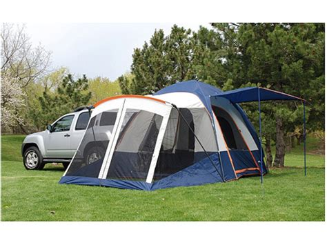 suv awning napier sportz 83000 suv tent screen room polyester blue