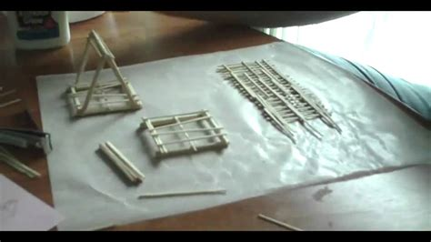 Toothpick by Building A Toothpick Bridge Youtube