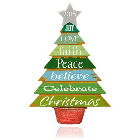 2015 celebrate christmas hallmark keepsake ornament