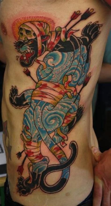 japanese animal tattoo designs 30 panther ideas for boys and