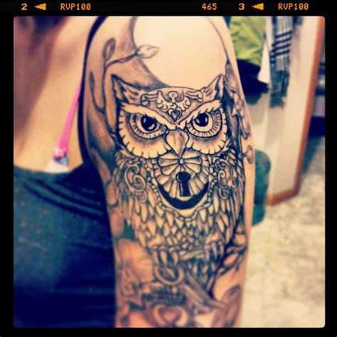 owl tattoo on woman s arm tattoo sleeve ideas for women art that lasts a lifetime