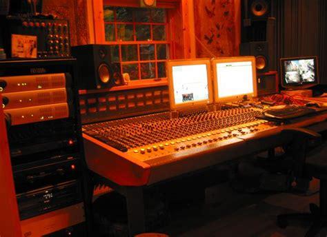 equipment listing the shed recording studio niagara on