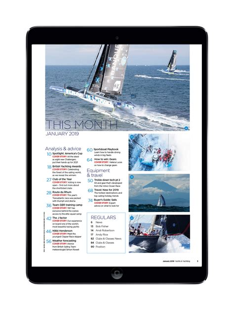 boat cruise january 2019 yachts yachting january 2019 digital edition the