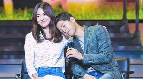 Scandalous Skandal Asmara Sang Robards jelang nikah song joong ki ajak song hye kyo ke los angeles showbiz liputan6