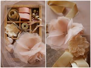 Material Flowers Diy - fabric hair flowers for brides buy or diy