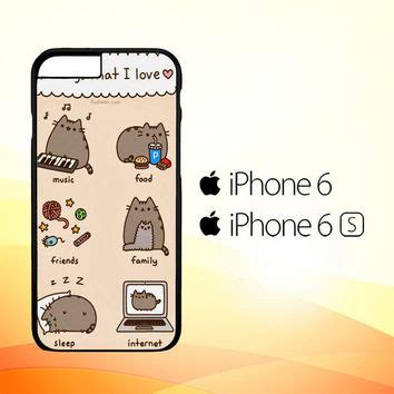 Casing Hp Iphone 6 6s Wallpaper 2 Custom Hardcase Cover best pusheen cat iphone products on wanelo