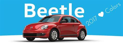 volkswagen beetle interior  exterior color options