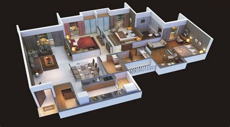 home plan design 3 bhk 3bhk 3d house map www pixshark com images galleries