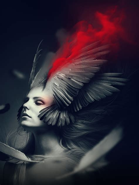 adobe photoshop wings tutorial fantasy angel portrait effect with wings in photoshop