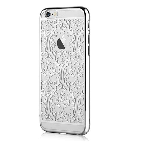 Silver For Hardcase Casing Iphone 6 6s 6 6s Harga Termurah devia baroque with swarovski elements for iphone 6 plus iphone 6s plus silver price