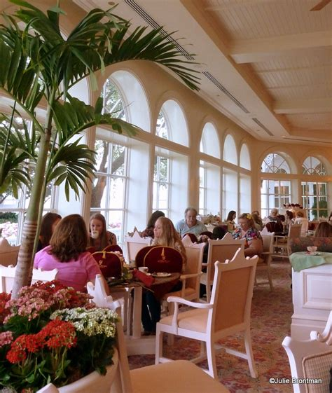 The Garden Tea Room by Guest Review Afternoon Tea At The Grand Floridian S