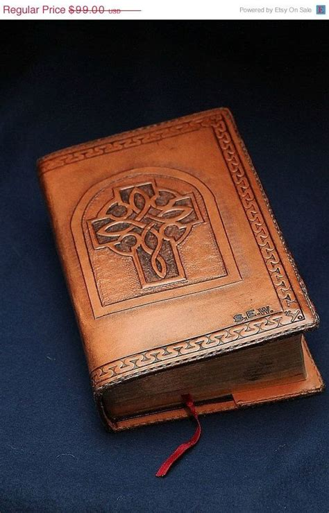 Handmade Bibles - 14 best images about custom leather bible covers on