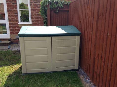 Plastic Garden Storage Plastic Garden Storage Box Ebay