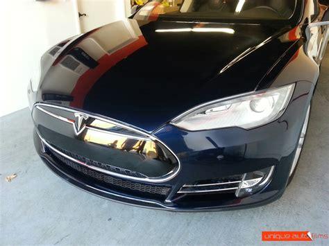Tesla Clear Bra Tesla Model S Front Clear Bra Paint Protection