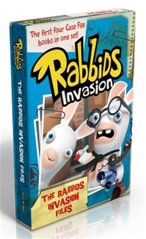 The Rabbids Invasion Files Book By David Lewman Patrick