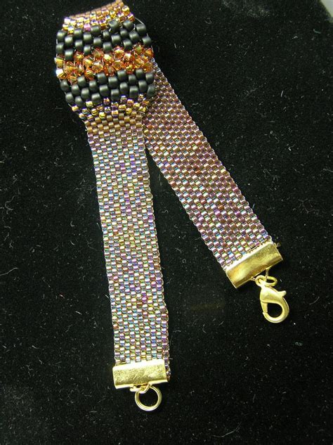 peyote beaded bracelets 16 best images about peyote bracelet bumps in the road on