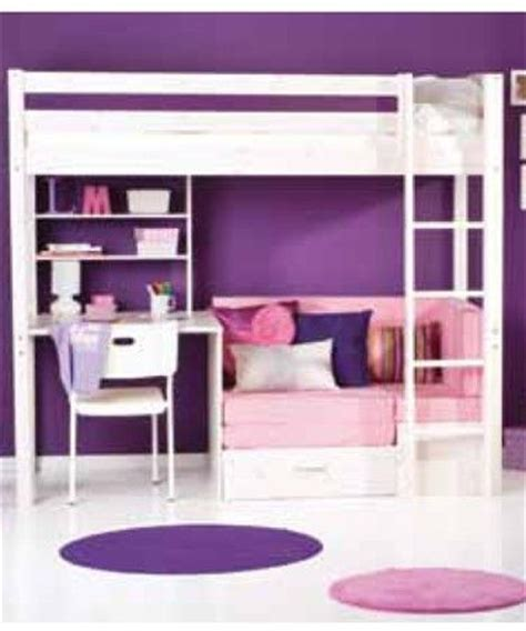 loft bed with desk and futon college loft bed with desk woodworking projects plans