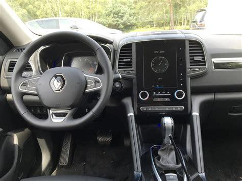 renault koleos 2017 interior renault koleos 2017 review uae yallamotor