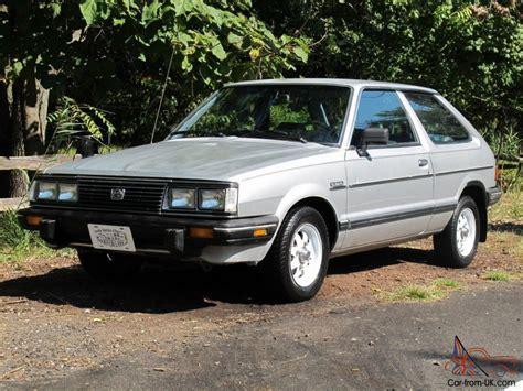 subaru gl 1983 1983 subaru gl 4wd one owner colorado car