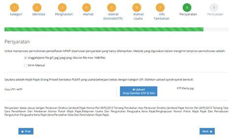 buat npwp via on line cara daftar npwp online dan syaratnya 2018 kembar pro