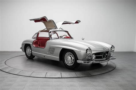1954 mercedes 300 sl sells for a staggering 1 9
