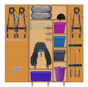 fabrication d une armoire de sellerie