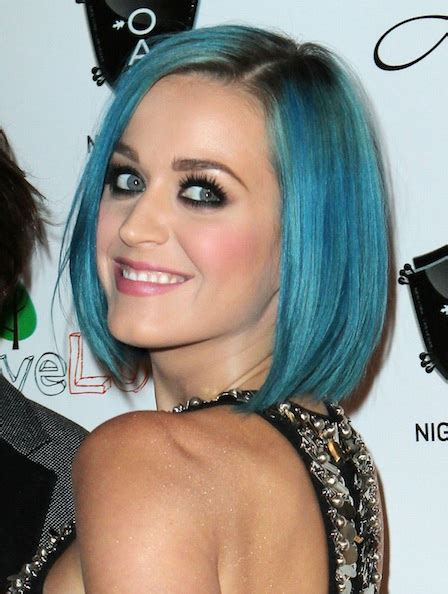 Blue New Hairstyle by Katy Perry Hair Color Katy Perry Blue Hair Color