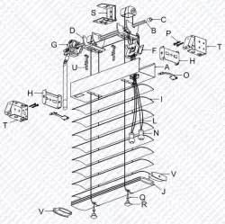 Wooden Window Box Brackets - 2 inch blind parts schematics