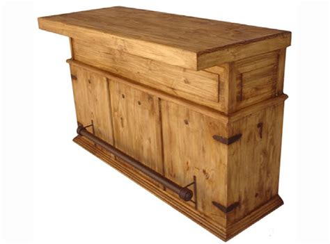 Kitchen Island Block rustic wood bar rustic bar wood bar