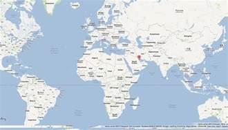 Qatar On World Map by Qatar Map