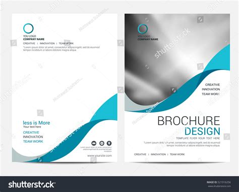 brochure template layout cover design annual report brochure layout template cover design background imagem