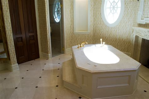 bathrooms in usa crema marfil bathrooms traditional bathroom dallas