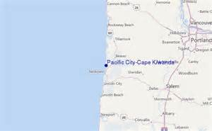 map of pacific city oregon pacific city cape kiwanda surf forecast and surf reports