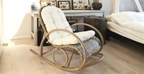cuscini per sedia a dondolo sedia a dondolo vimini per bambini design casa creativa
