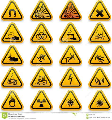 salute betekenis simboli standard di rischio illustrazione vettoriale