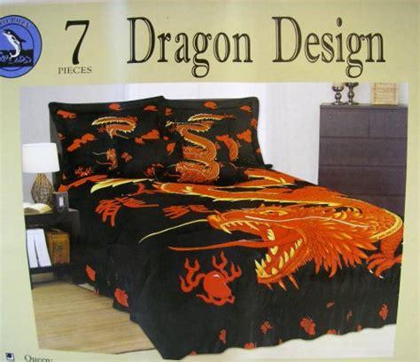 dragon bed dragon bedroom bedding set 7pcs queen size bedding