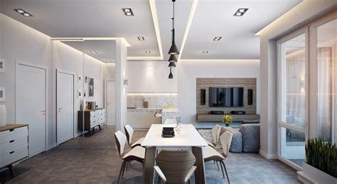 stylish apartment  germany visualized
