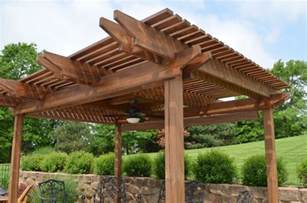 wood for pergola outdoor patio wooden brown pergola design in patio