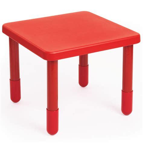 angeles value preschool table 28 quot square ab700