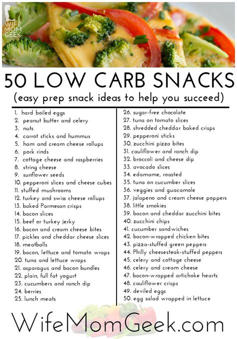 zero carbohydrates low carb snack foods