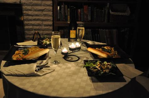 ideas for a dinner party at home romance tip of the week romance on a budget the heart