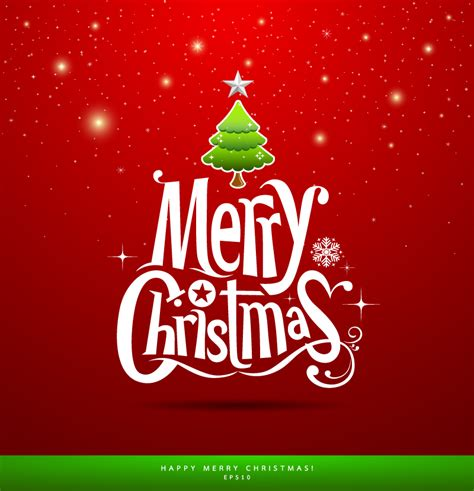 merry christmas pine star vector  vector graphic