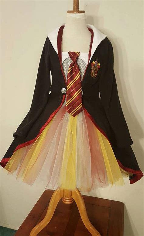 harry potter tutu dress princess robe scarf  hair bow