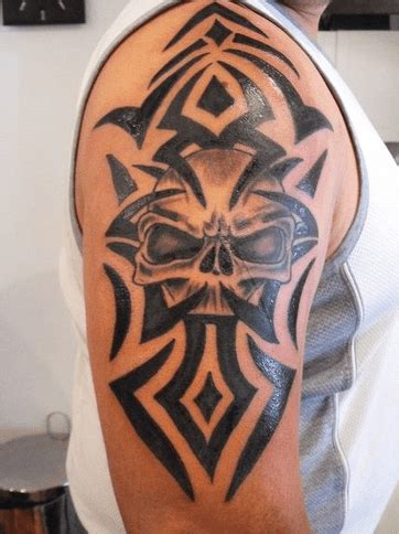 skull tribal tattoos tribal designs and meanings 35 pictures