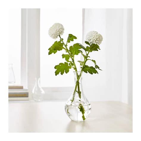 vaso vetro ikea vaso vetro trasparente 17 cm viljestark ikea ebay